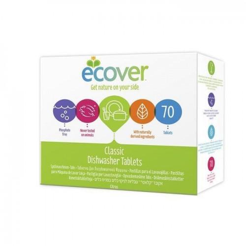 Indaplovių tabletės Ecover 1,4kg (70tab.)