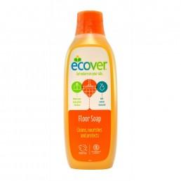 Natūralus muilas grindims su sėmenų aliejumi Ecover 1 Litras