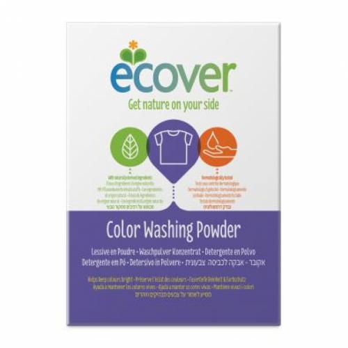 Skalbimo milteliai spalvotiems audiniams Ecover 1,2kg