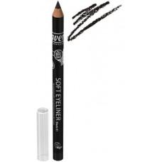 Akių kontūro pieštukas Lavera 1,14g  Juoda spalva Nr.1