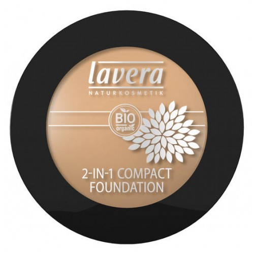 Kompaktinė pudra Lavera Trend Sensitiv 2 in 1, 10g Ivory
