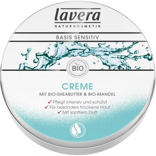Kremas Lavera Basis Sensitiv Mini All-Round 25ml