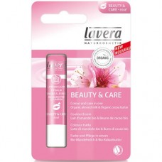 Lūpų balzamas Beauty&Care LAVERA 4.5g - Rose spalva