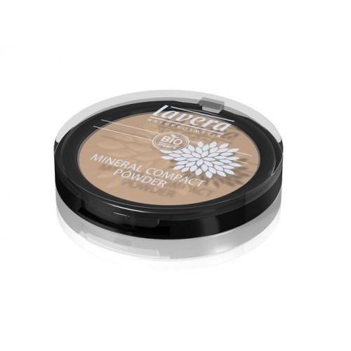 Mineralinė kompaktinė pudra Lavera Ivory 01