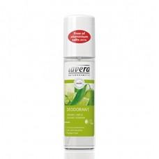 Purškiamas dezodorantas su verbenomis ir žaliosiomis citrinomis Lavera 75ml