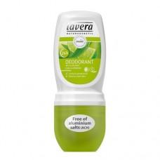 Rutulinis dezodorantas su verbenomis ir žaliosiomis citrinomis Lavera 50ml