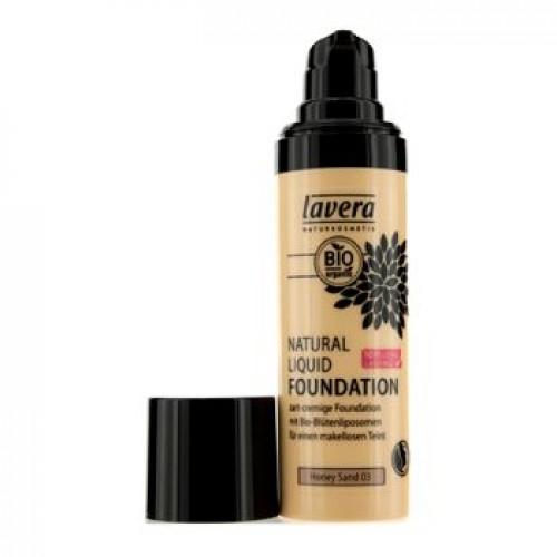 Skystas makiažo pagrindas Lavera Trend Sensitive 30ml Honey Sand