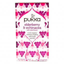 Ekologiška arbata Pukka Elderberry & Echinacea 20pak.