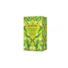 Ekologiška arbata Pukka Lemongrass & Ginger 20pak.