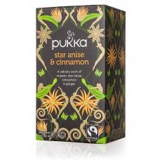 Ekologiška arbata Pukka Star Anise & Cinamon 20pak.
