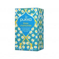 Ekologiška arbata Pukka Three chamomile 20pak.