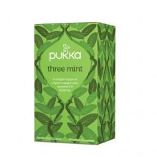 Ekologiška arbata Pukka Three Mint 20pak.
