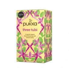 Ekologiška arbata Pukka Three Tulsi 20pak.