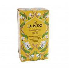 Ekologiška arbata Pukka turmeric gold 20pak.